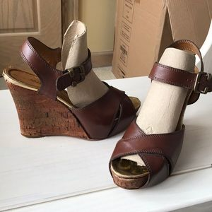 Miss Sixty Mary Jane wedge Sandals
